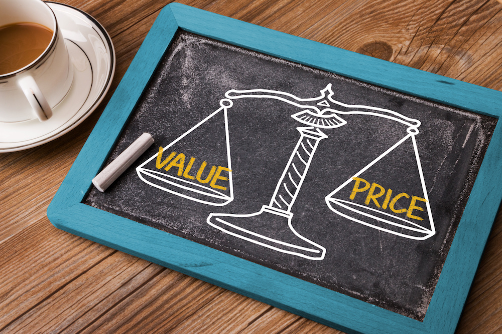 escrow cost versus value